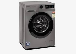 Panasonic 7 kg Fully Automatic Front Load with In-built Heater Silver
