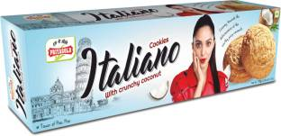 Priyagold Italiano Cookies with Crunchy Coconut