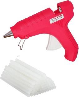 tHemiStO Hot Melt Glue Gun kit 40 Watt With 10 Glue Sticks and 3 Months Warranty For Quick Repairs, Pa...