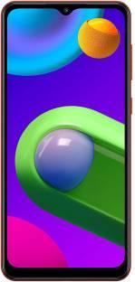 SAMSUNG Galaxy M02 (Red, 32 GB)