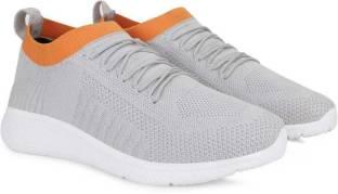 M7 By Metronaut Nano_Cell_22509-OrangeGrey Running Shoes For Men
