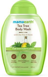 MamaEarth Tea Tree Body Wash With Tea Tree & Neem For Skin Purification – 300 ml
