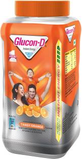 GLUCON-D Instant Energy Health Drink Tangy Orange Nutrition Drink