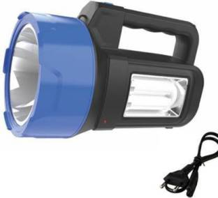 IDOLESHOP Laser and Laser Blinker With Side Tube Emergency Light Rechargeable Torch(50 Watt, Pack of 1...
