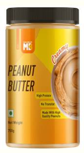 MuscleBlaze Peanut Butter with Added Omega | No Oil Separation Creamy 750 g