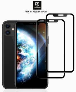 GLOBAL NOMAD Edge To Edge Tempered Glass for Apple iPhone 11, Apple iPhone XR