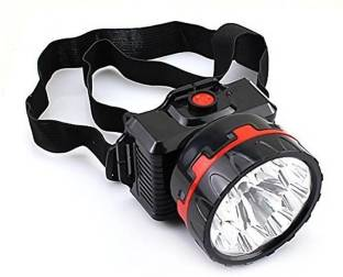 A 1 ROCK LIGHT RL 913 RECHARGEALE HEAD LIGHT WITH HIGH FOCUS Torch
