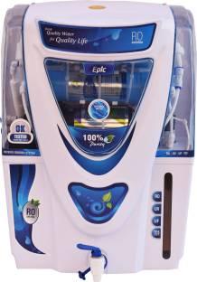 Aqua EPIC Model 12 L ALKALINE FILTER+ RO + UV + UF + ALKALINE FILTER 12 L RO + UV + UF + TDS Water Pur...