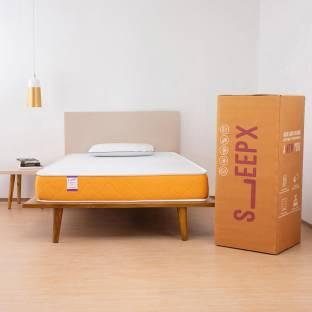 SleepX Dual Medium Soft & Hard 6 inch King High Density (HD) Foam Mattress