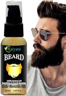 Raiyani Beard Growth Oil for strong and healthy beard  Hair Oil