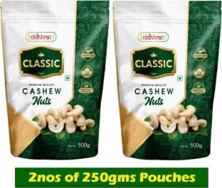Nidhivan Classic W320 Cashew Wholes (500gms) Cashews