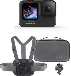 GoPro Hero 9 Black Hero 9 Sports kit Bundle Sports and Action Camera