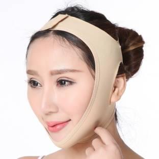 AlexVyan Large L Size Anti Aging Face Chin Cheek Slimming Mask V-Line Lifting Face Lift Bandage Strap  Face Shaping Mask
