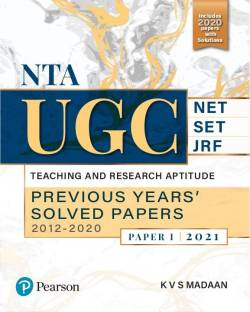 Nta UGC Net/Set/Jrf Teaching and Research Aptitude, Previous Years' 2021