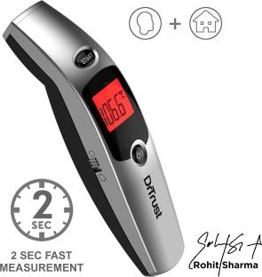 Dr. Trust (USA) Non Contact Forehead Temporal Artery Infrared Thermometer With Color Coded Fever Guidance Thermometer