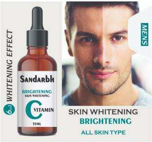 Sandarbh Vitamin C Serum Skin Brightening , Fairness, Improved, Face Whitening Pigment ,Natural Glowing Beauty , hyaluronic acid for glowing youthfull improved shine , Alovera Extract , White Beauty Anti Spot Fairness , Booster Serum, Anti AGING Skin Repair , Dark Circle , fine Line & Sun Damage Corrector , Age - Defring , Ageless Serum