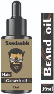 Sandarbh Beard Black Beast For Men Infused, 100% Fast Growth , Naturally Growth , Extra Growth Booster , New Improved Beard Oil ,Faster Then Other , Intense Growth Oil Hair Oil