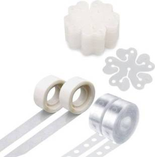 FLIPZONE Balloon Decorating Strip Kit (2x balloon tape strip(5ft/Pcs with 110 holes), 2x tie tools, 2x glue craft point(100/pcs) and 5 x convenient holder clips