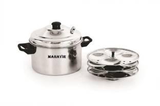 Mahavir Induction & Standard Idli Maker (3 Plates , 12 Idlis ) Induction & Standard Idli Maker