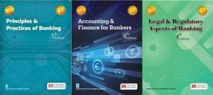 JAIIB - PPB + Accounts + LAB - Macmillan - New Latest Editions - Set Of 3 Books