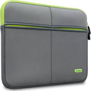 AirCase 14 Inch Premium, Designer, Suave, 6-MultiUtility Pockets Laptop Sleeve/Cover