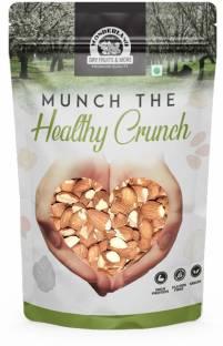 WONDERLAND Almonds Split Nut, Big Size, (badam Tukda) Dry Fruit,450 Grams Almonds Almonds