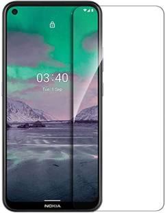 silkykraftz Tempered Glass Guard for Nokia 3.4