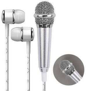 Gabbar Karaoke Microphone Sing Mic for Phone Wired Headset Wired Headset