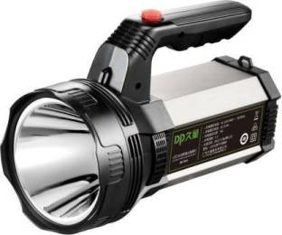 JK Sales DP 7313 Rechargeable Metal Bright Led Torch Light Laser Long Range Distance High Power Search...