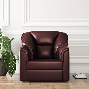 WESTIDO Burj Leatherette 1 Seater  Sofa