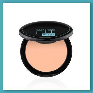 MAYBELLINE NEW YORK Fit Me Shade 115 Compact Powder, 8g - Powder that Protects Skin from Sun, Absorbs Oil, Sweat and helps you to stay fresh for upto 12Hrs Compact