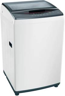 BOSCH 7 kg Fully Automatic Top Load White, Grey