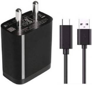 Datalact Wall Charger Accessory Combo for Type C Fast Charger 18Watt with Quick Charge 3.0 Support,Compatible with Poco F1/F2 and Mi Devices and Other Type C Android Smartphones 3 A Mobile Charger with Detachable Cable