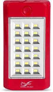 24 ENERGY 21 SMD Hi - Bright Solar Rechargeable With Power Bank Torch