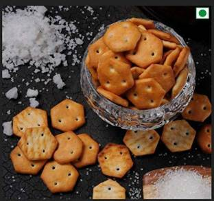 Organic Bites Salted Crackers (Salted Mini Biscuits)