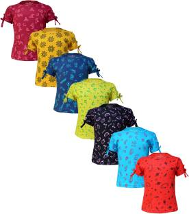 Naughty Little Girls Printed Pure Cotton T Shirt