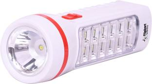 Flipkart SmartBuy FKSB-9002C LED 2 in 1 Torch Emergency Light Torch (Red, Pink : Rechargeable) Torch
