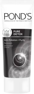 PONDS Pure Detox Anti-Pollution Purity  With Activated Charcoal Face Wash