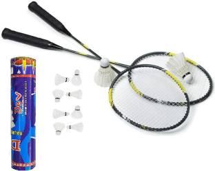 Vsh 6G-007 BADMINTON Black Strung Badminton Racquet