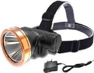 AKR ONLITE L760 40Watt Laser Rechargeable Head Torch with Lithium-ion Battery for Farmers, Fishing, Ca...