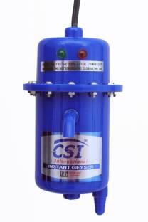 CSI INTERNATIONAL 1 L Instant Water Geyser (1L INSTANT WATER PORTABLE HEATER GEYSER SHOCK PROOF PLASTI...