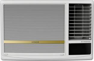 Hitachi 1.5 Ton 5 Star Window Inverter AC  - White