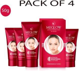 meglow Premium Fairness Cream 200g (pack of 4)