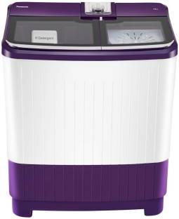 Panasonic 7 kg Semi Automatic Top Load Purple