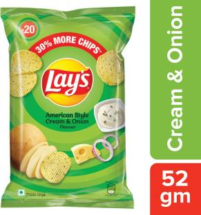 Lay's American Style Cream & Onion Chips