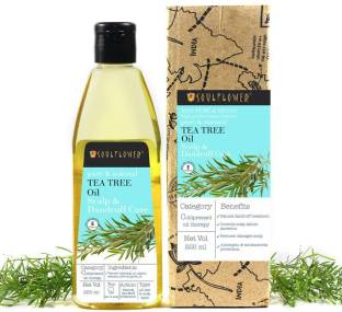 Soulflower Tea Tree Anti-dandruff and scalp care oil Hair Oil