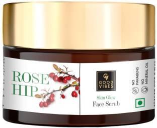 GOOD VIBES Skin Glow Face Scrub - Rosehip (50 g) Scrub