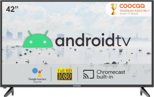 Coocaa 106 cm (42 inch) Full HD LED Smart Android TV