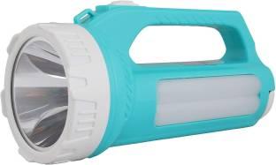 FIRSTLIKE 25 Watt Laser Led Rechargeable Search Light Torch with Emergency 35 Watt Tube SMD light Torc...