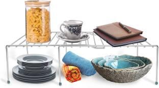 imPULSE Multipurpose Plate Rack/Dish Rack/Plate Stand/Dish Stand/Utensil Rack/Chrome Plated Plate Kitchen Rack
